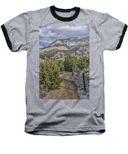 Baseball T-Shirt featuring the photograph Morning Walk by Alan Toepfer