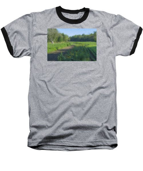Morning Walk At Langwater Farm Baseball T-Shirt