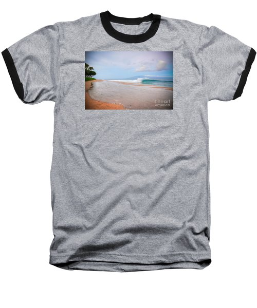 Baseball T-Shirt featuring the photograph Morning Wave by Kelly Wade