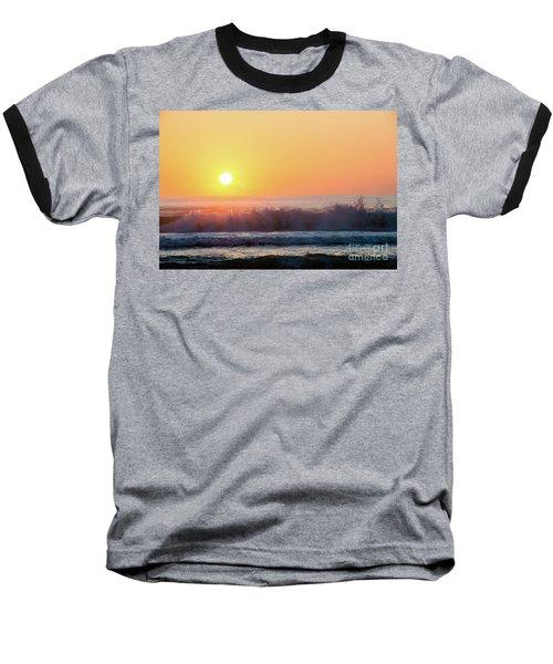 Morning Waves Baseball T-Shirt