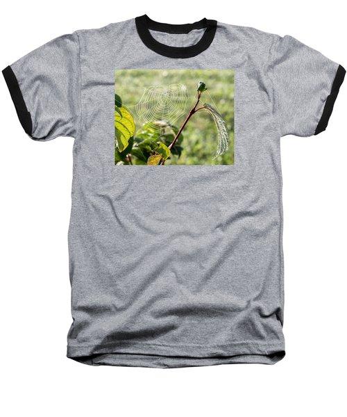 Morning Web #1 Baseball T-Shirt