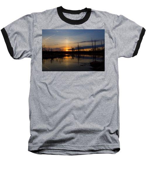 Morning Wilderness Baseball T-Shirt by Gary Smith