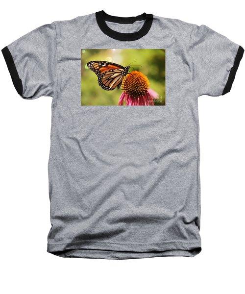 Baseball T-Shirt featuring the photograph Morning Wings by Yumi Johnson