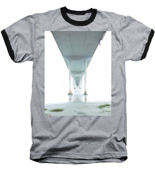 Mornings Underneath The Pier Baseball T-Shirt