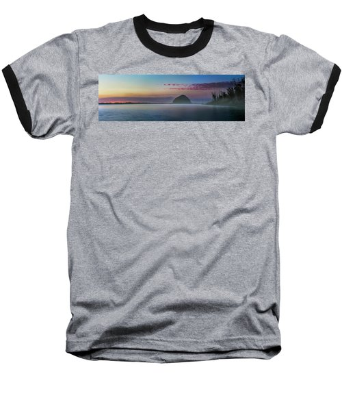 Moro Bay Calm  Pano Baseball T-Shirt