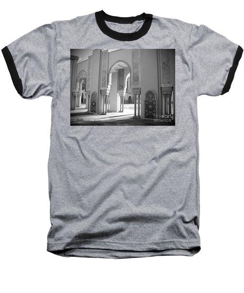 Morocco #1 Baseball T-Shirt by Susan Lafleur