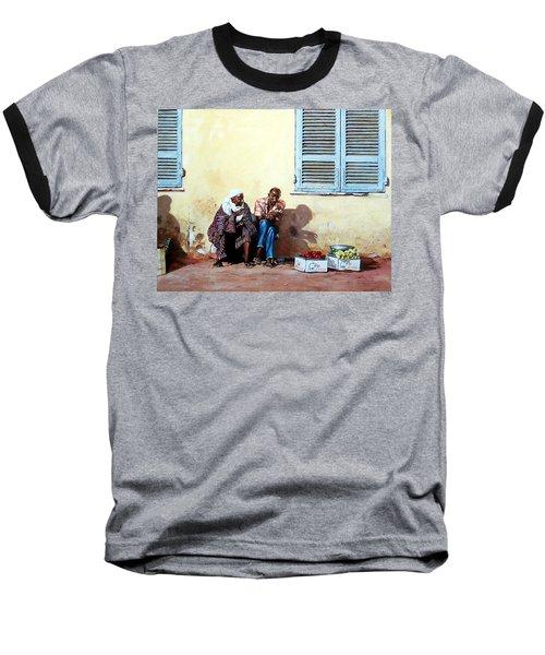 Morocco Baseball T-Shirt