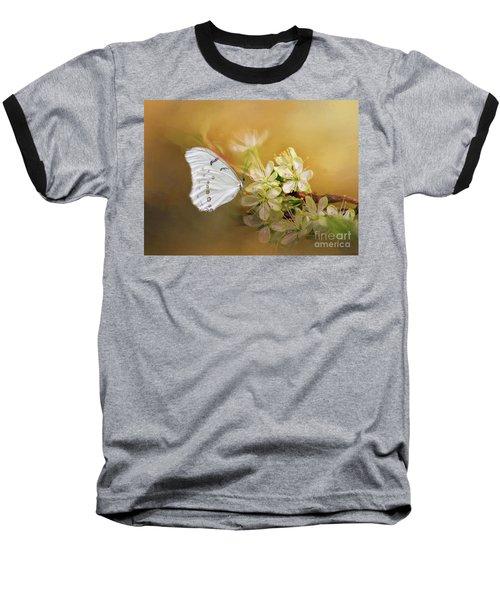 Morpho Luna  Baseball T-Shirt by Eva Lechner
