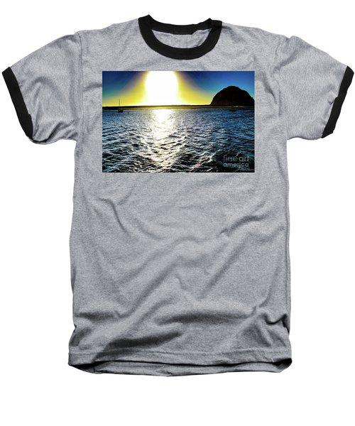 Morro Rock Baseball T-Shirt