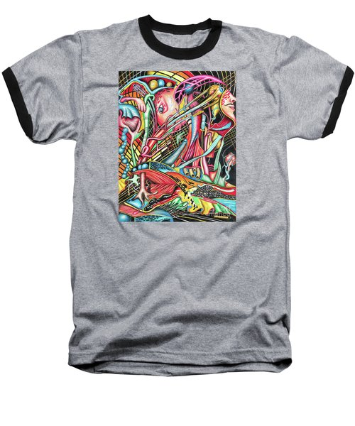 Mortal Fiber Baseball T-Shirt