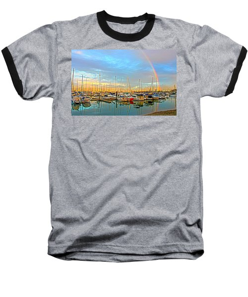 Morton Bay Rainbow Baseball T-Shirt