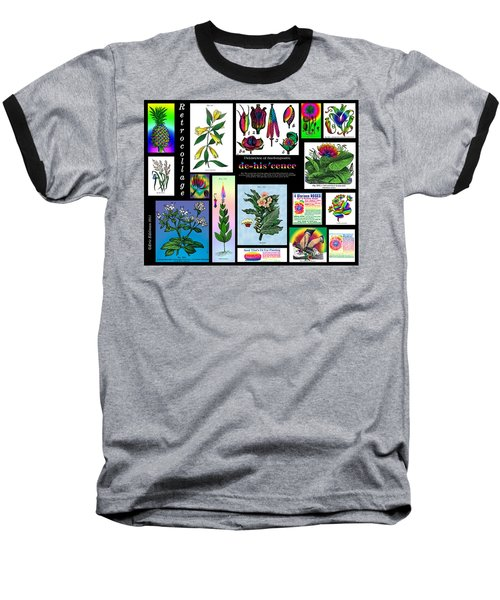 Mosaic Of Retrocollage II Baseball T-Shirt
