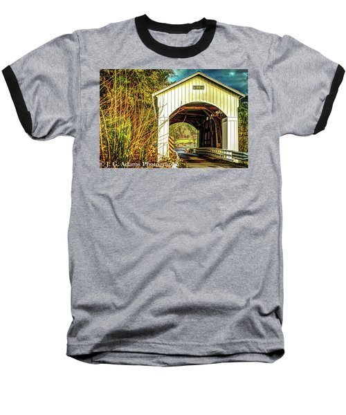 Mosby Creek Bridge Baseball T-Shirt