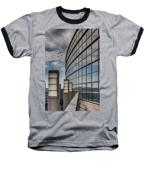 Baseball T-Shirt featuring the photograph Moscone West Balcony by Darcy Michaelchuk