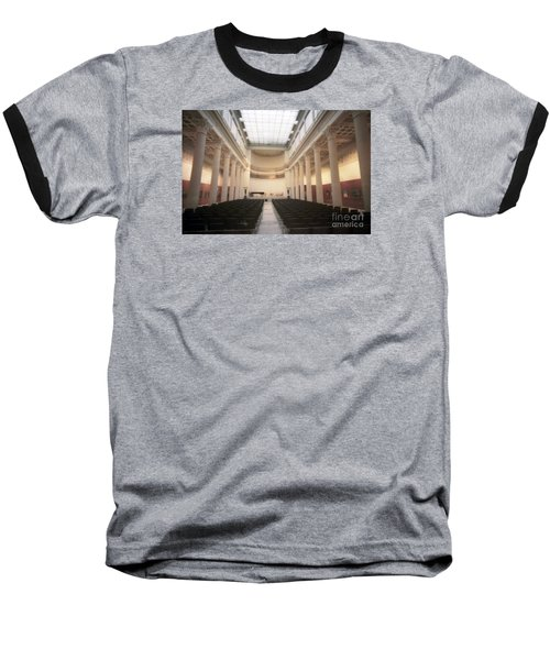 Moscow Consert Hall Baseball T-Shirt by Ted Pollard