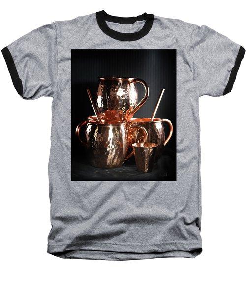 Moscow Mule Set Baseball T-Shirt