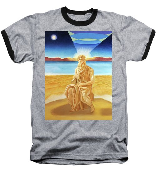 Moshe Rabbenu  Baseball T-Shirt