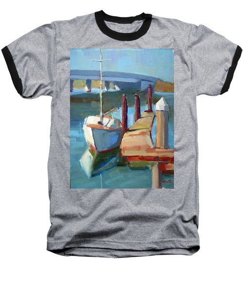 Moss Landing Morning Baseball T-Shirt