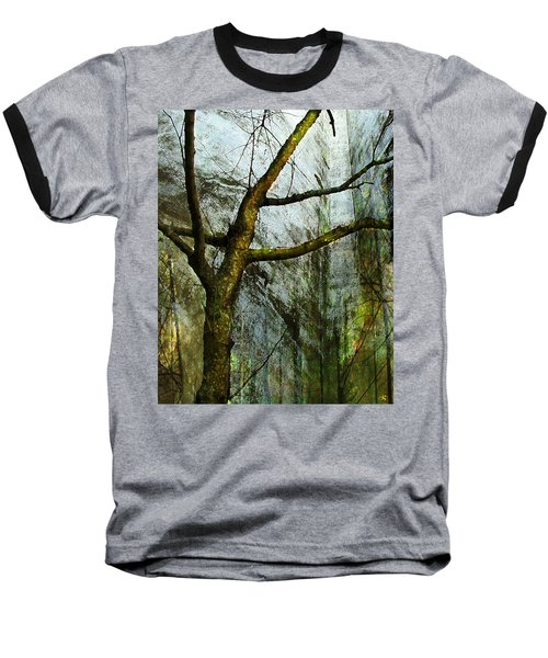 Moss On Tree Baseball T-Shirt