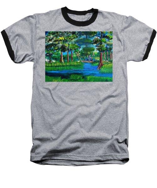 Moss Picker Impression Digital Baseball T-Shirt