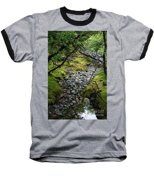 Moss Stream Baseball T-Shirt