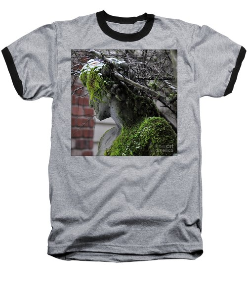 Baseball T-Shirt featuring the photograph Mossy Bacchus by Tanya Searcy