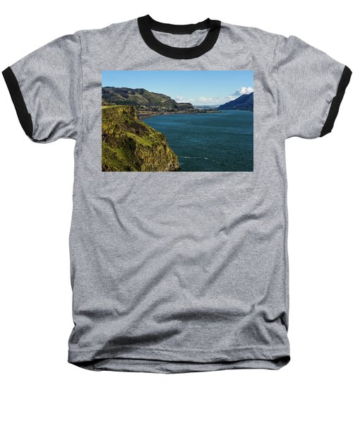 Mossy Cliffs On The Columbia Baseball T-Shirt