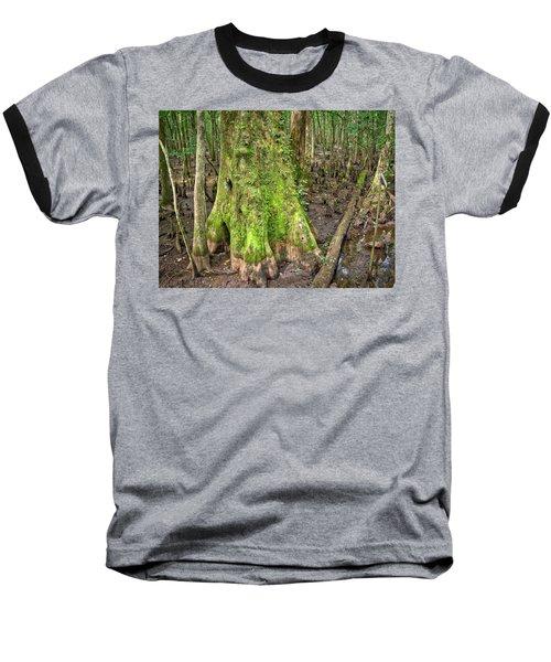 Mossy Cypress Baseball T-Shirt