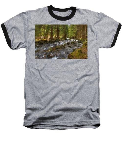 Mossy Stream Baseball T-Shirt