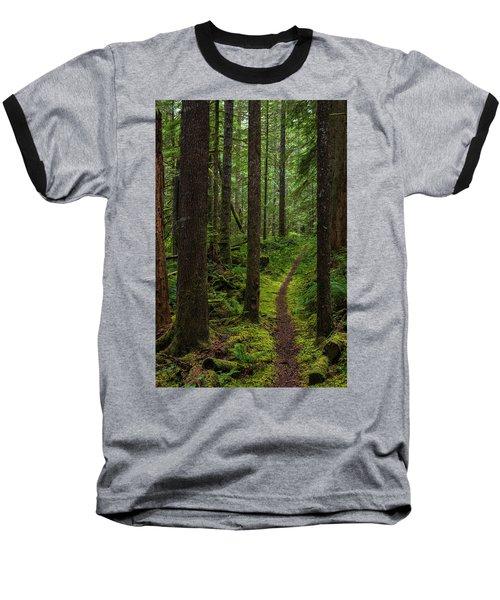 North Souixon Creek Mossy Trail Baseball T-Shirt