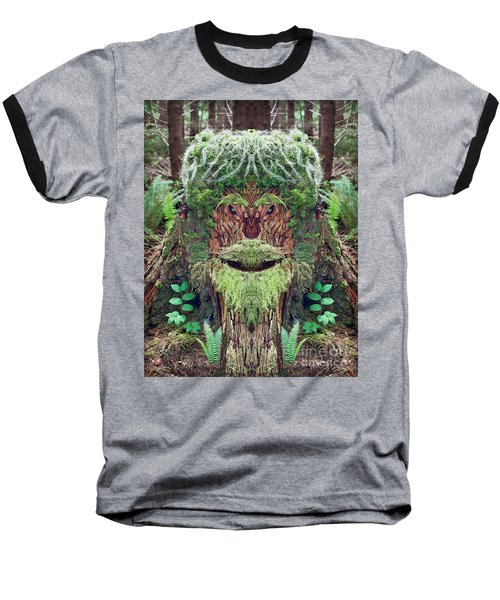 Mossman Tree Stump Baseball T-Shirt