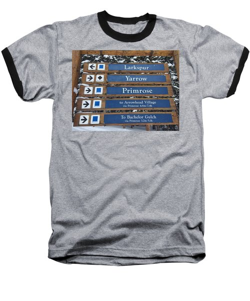 Most Go Right Baseball T-Shirt