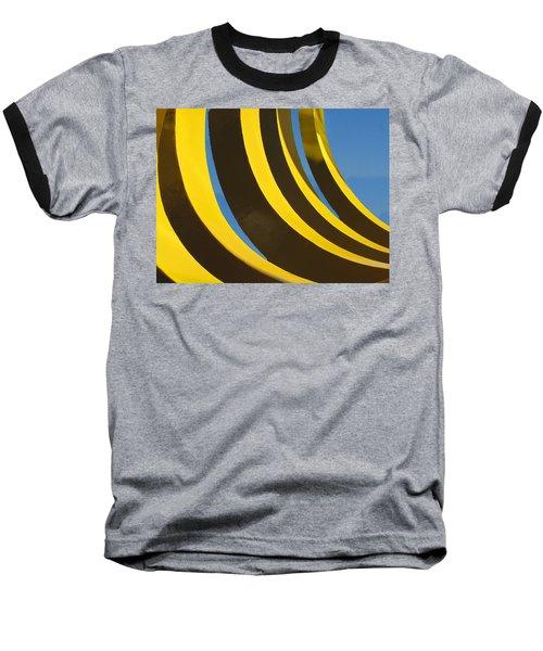 Mostly Parabolic Baseball T-Shirt