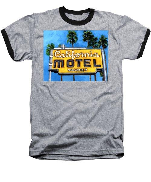 Motel California Baseball T-Shirt