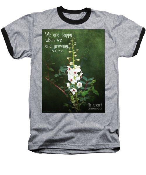 Moth Mullein Baseball T-Shirt