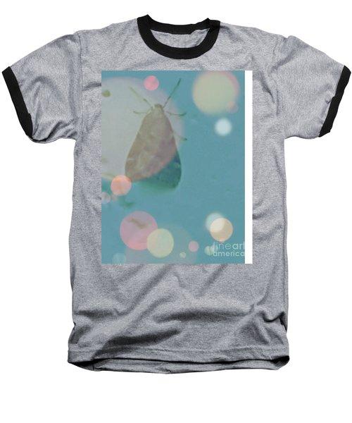 Moth World Baseball T-Shirt