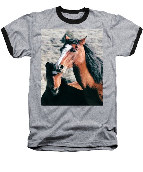 Mother And Colt Wild Baseball T-Shirt