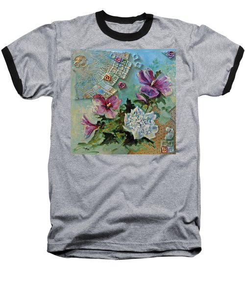 Mothers Althea Baseball T-Shirt by Suzanne McKee