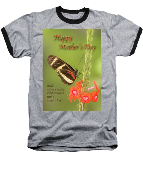 Mother's Day-butterfly Baseball T-Shirt