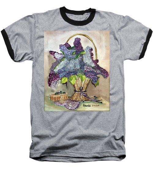 Mothers Day Lilacs Baseball T-Shirt