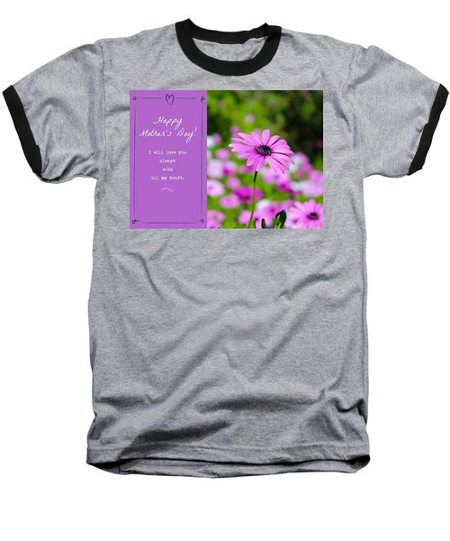 Mother's Day Love Baseball T-Shirt