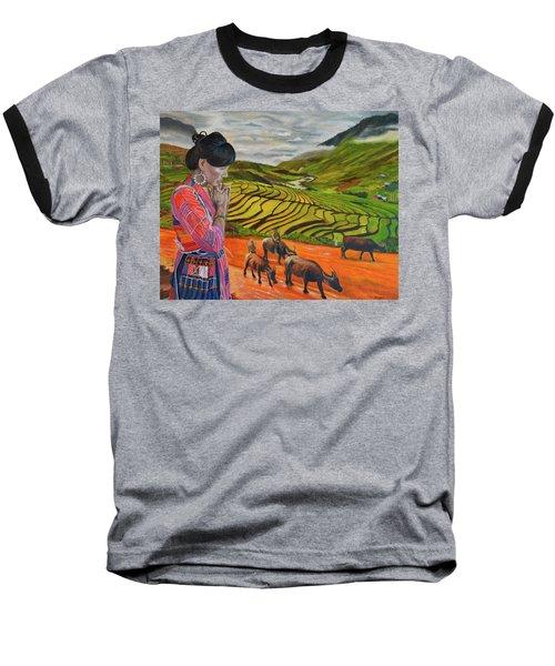 Mother's Land Baseball T-Shirt