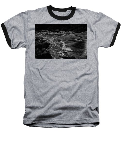Motion In Black And White Baseball T-Shirt