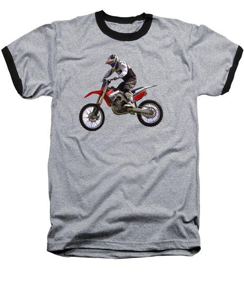 Motocross Baseball T-Shirt