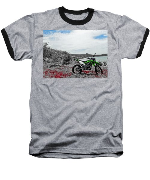 Motocross Baseball T-Shirt