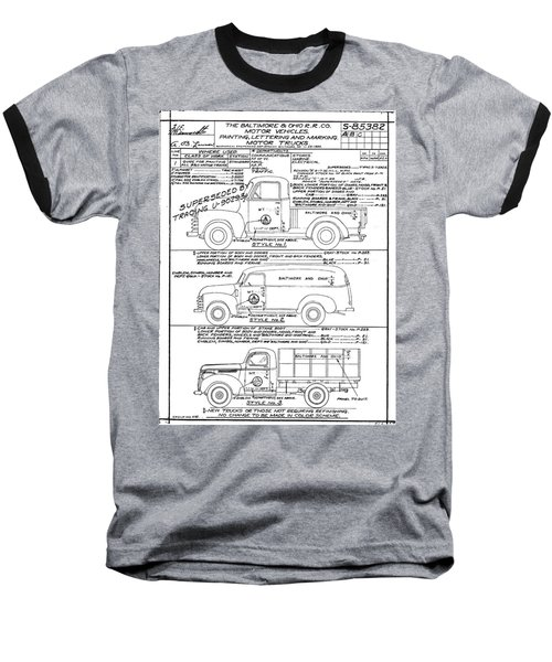 Motor Vehicles Baseball T-Shirt