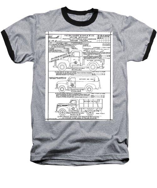 Motor Vehicles Baseball T-Shirt