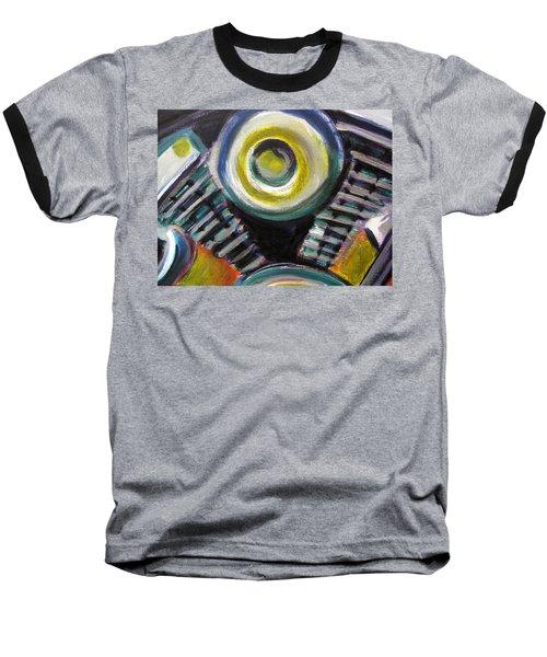 Motorcycle Abstract Engine 2 Baseball T-Shirt