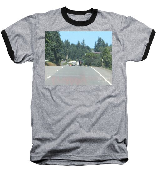 Baseball T-Shirt featuring the photograph Motorcycle Club Aka Four by Marie Neder