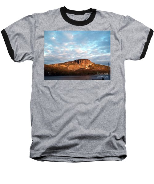 Mottled Sky Of Late Spring Baseball T-Shirt by Barbara Griffin